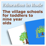 Education in Rode, details of schools and pre-schools