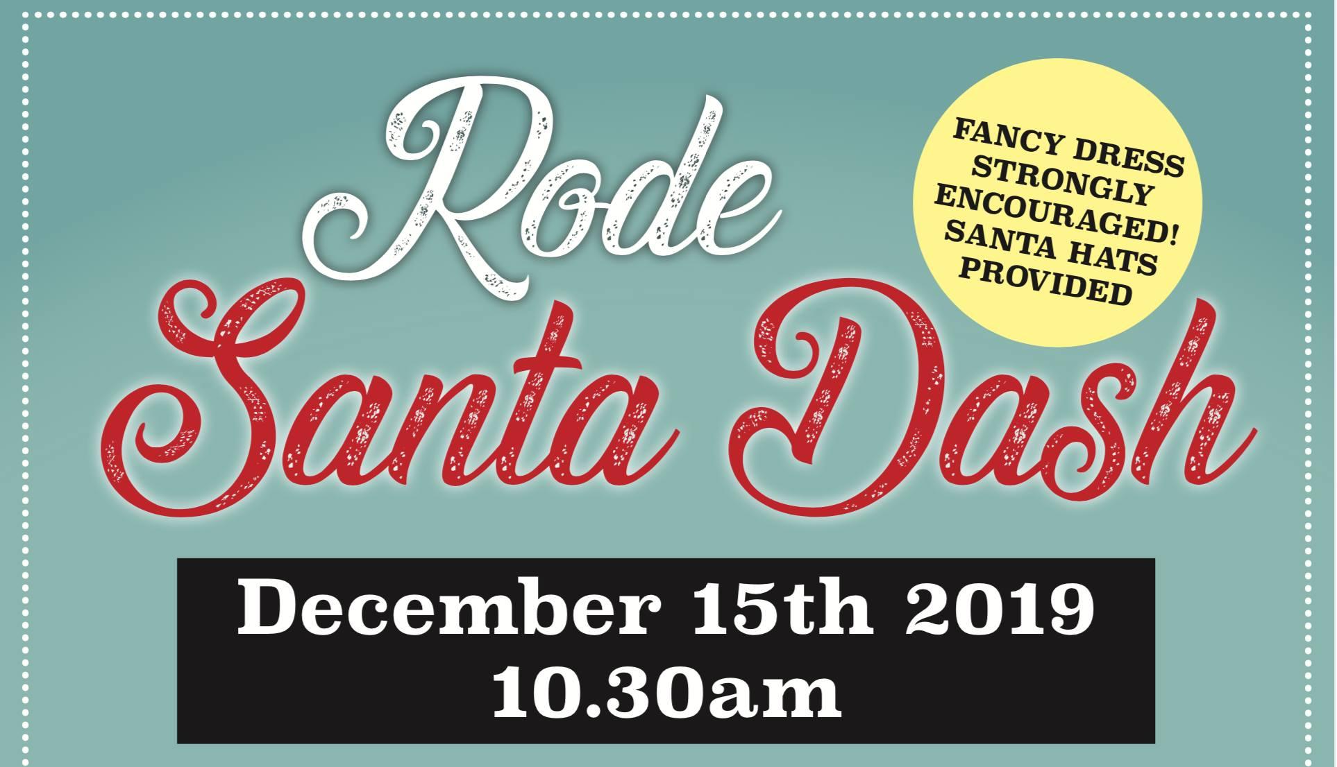 Rode Santa Dash